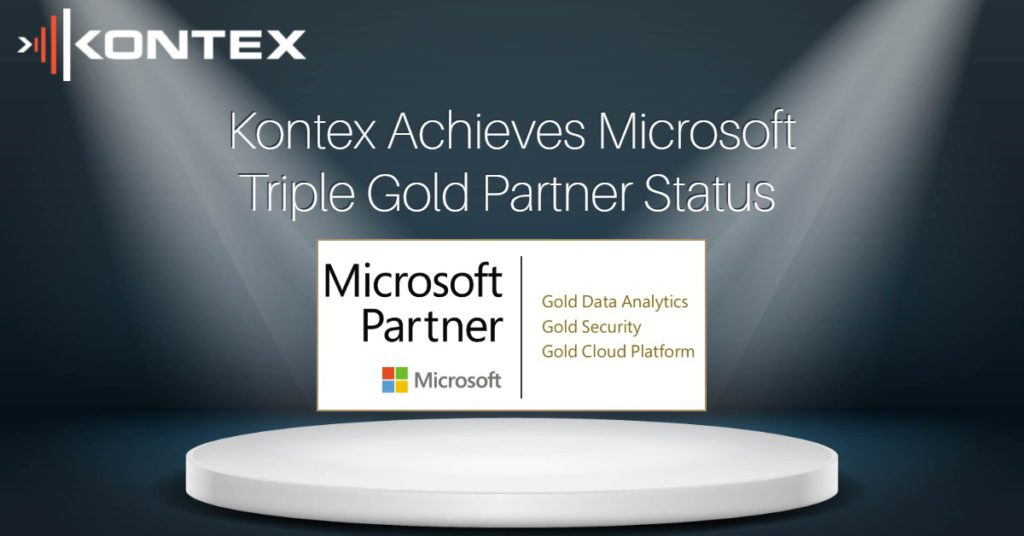Kontex attain a further 2 Microsoft Gold Competencies