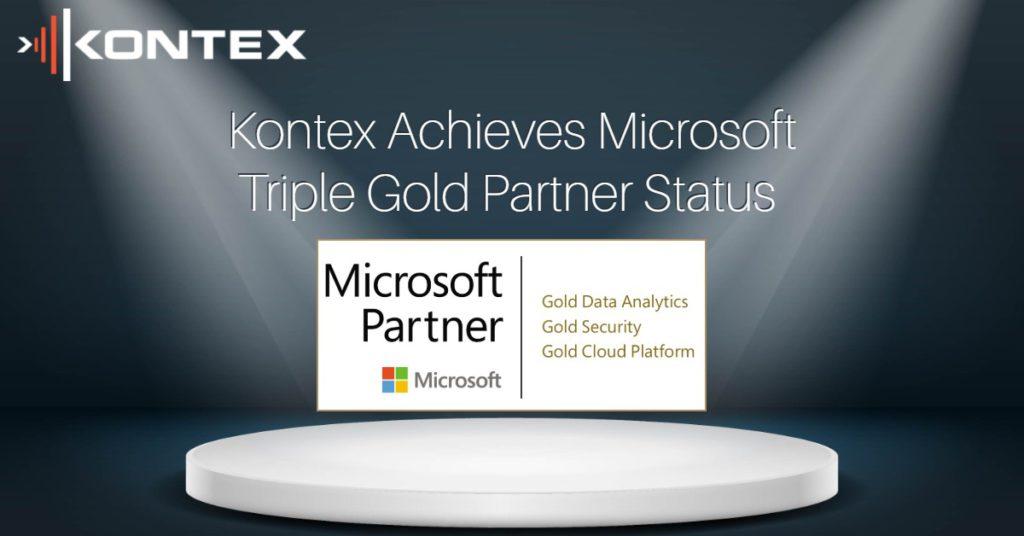 Kontex attain a further 2 Microsoft Gold Competencies
